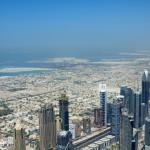 Dubai coast and more island construction